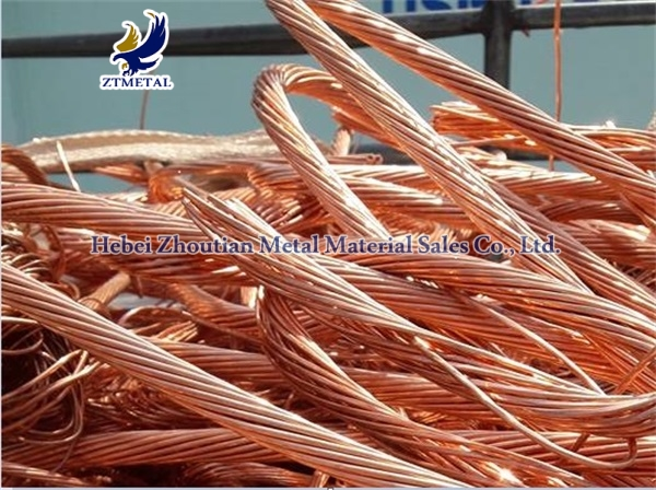Scrap copper wire